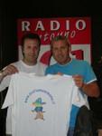 Massimo valli e Dario Desi con la maglietta !!!